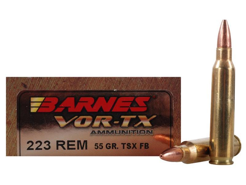 223 Remington 55 Grain Barnes Tsx