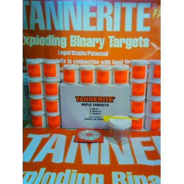 Tannerite Half Brick 1/2 Lb Exploding Target 4pk 1/2BR