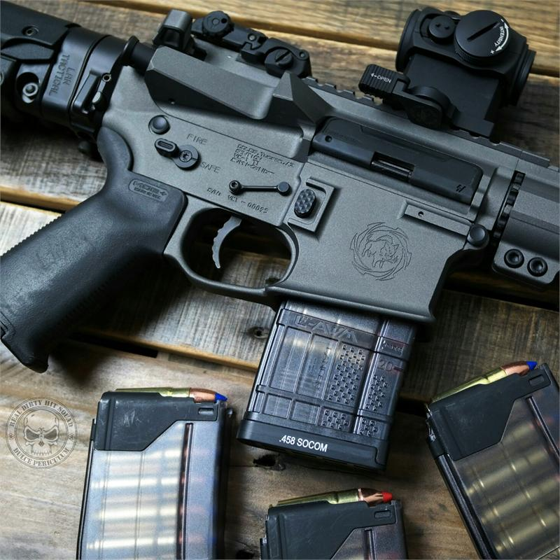 Law Tactical Ar Folding Stock Adapter Gen3 M