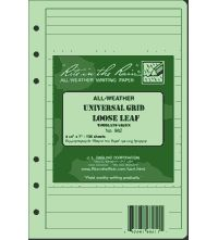 Universal Loose Leaf Sheets