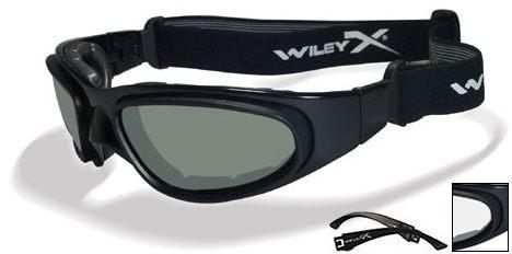 WILEY-X INTERGHANGABLE LENS SG-1 SMOKE GREEN/CLEAR #71