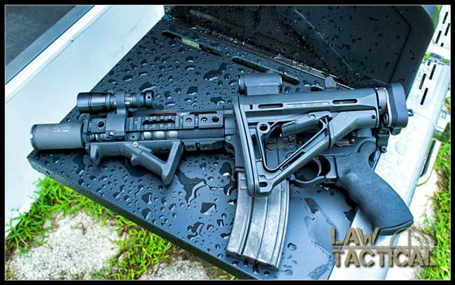 Law Tactical Ar Folding Stock Adapter Gen3 M