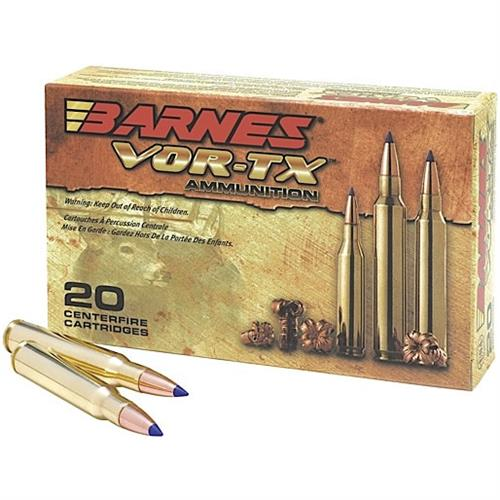 223 Remington, 55 Grain Barnes TSX, 20 Rounds