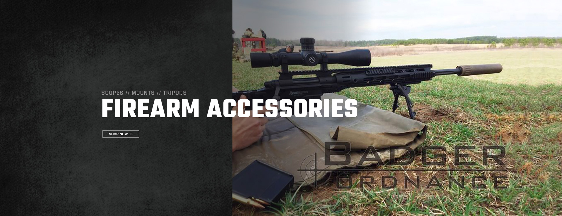 Scopes, Mounts, Tripods, and other firearm accessories